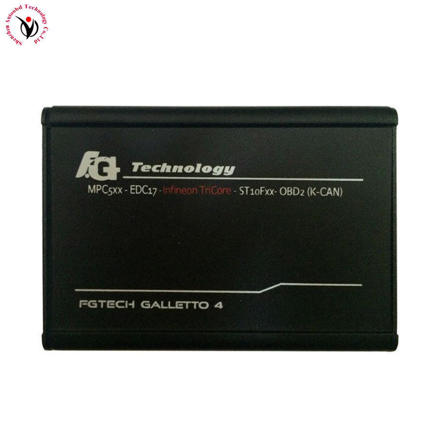 Real V54 NEW design A+ Quality fgtech galletto 4 master and mpps v16 V54 FG Tech BDM-TriCore-OBD support BDM function+USB KEY