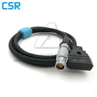 DTAP TO Connector 4pin Plug For Camera Canon C300 C200 Mark2 C100 C500 Power Cord 60cm