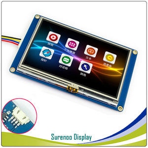 """Image 3 - 4.3"""" NX4827T043 Nextion Basic HMI Smart USART UART Serial Resistive Touch TFT LCD Module Display Panel for Arduino RaspBerry Pi"""