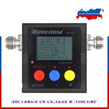 Surecom SW 102 antena de potencia VHF/UHF, 125 525Mhz, SWR MeterDigital VHF/UHF SWR y medidor de vatios de potencia, última versión