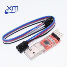 1pcs CP2102 module USB to TTL serial UART STC download cable PL2303 Super Brush line upgrade A44