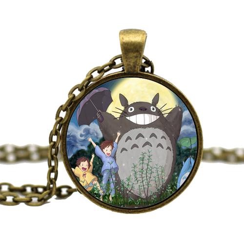 Totoro Bronze Necklace