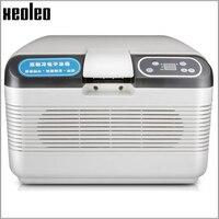Xeoleo Drug Cold Strorage Refrigerator 12L Insulin Interferon Refrigerator 12V 220V Car Home Refrigerator Cold Hot