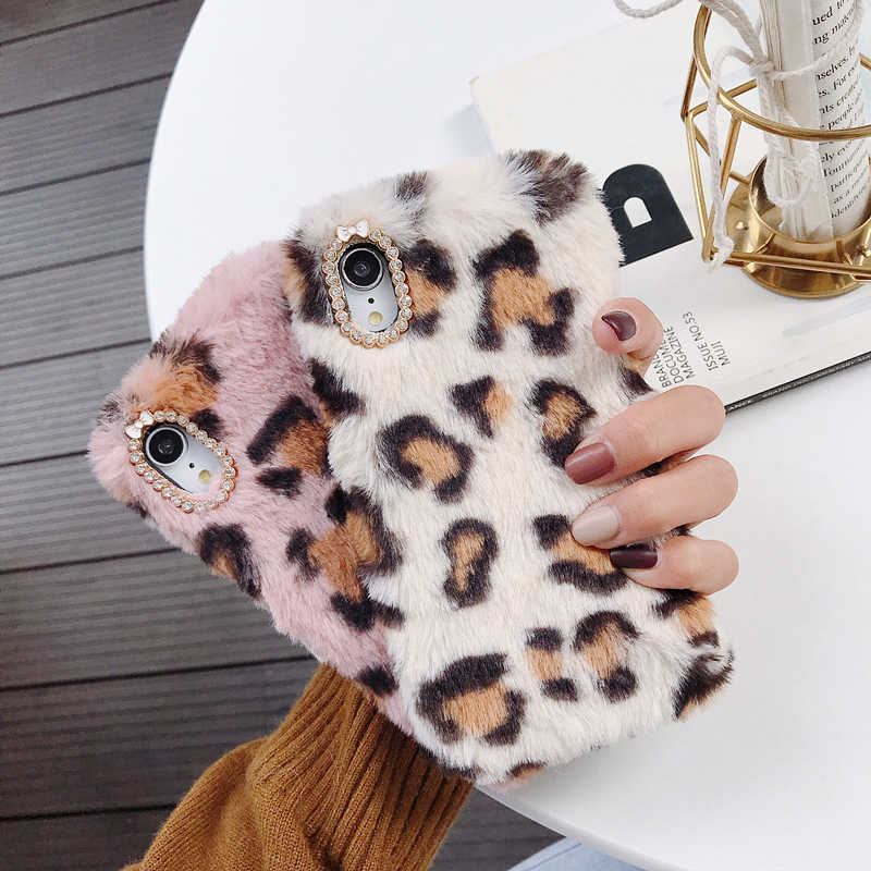 Warm Fur Case For Xiaomi Mi A2 Lite Pocophone F1 6X 5X 5S Mi 6 A1 8 Youth 2 Mix Note 3 MAX 3 Plush Silicone Cover Warm Housing