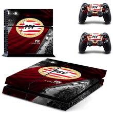 Оборудование для psv Эйндховен Футбол команды наклейка для PS4 Стикеры наклейка для Игровые приставки 4 консоли и 2 контроллера кожи PS4 Стикеры винил аксессуар