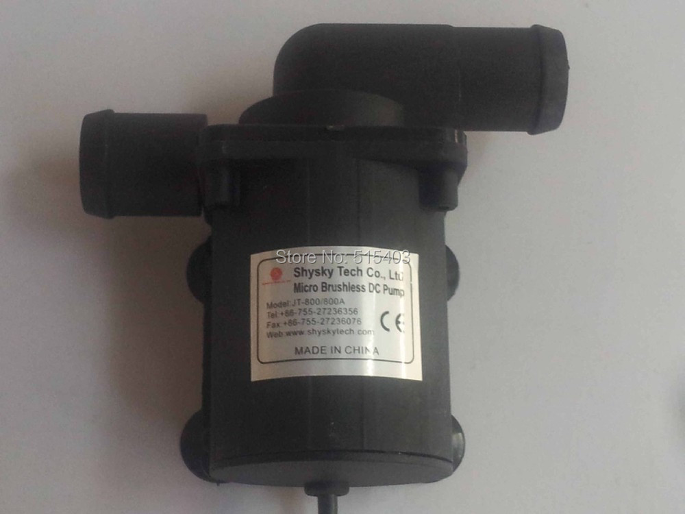 1pcs 12V Car circulating pump 100C High temperature. Lift 5M Flow 600LPH Long life Low noise Absolutely safety Maintenance free