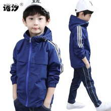 long windbreaker teenage jacket