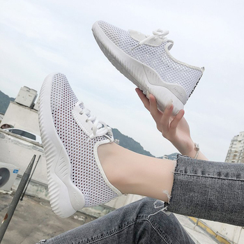 Women Shoes White Sneakers Women Super Light Gym Zapatillas Mujer Breathable Basket Trainers Vulcanized Shoes Women Casual Shoes