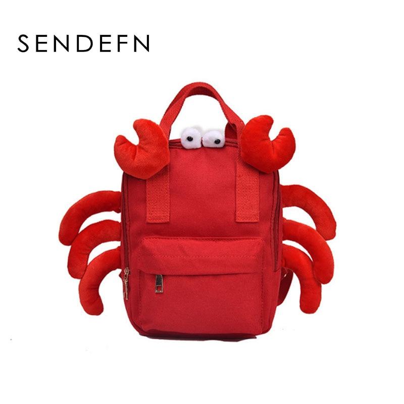 Backpack Kids Baby-Bag School-Bags Kindergarten Teenage Animal Girls Boys Cute for Cartoon