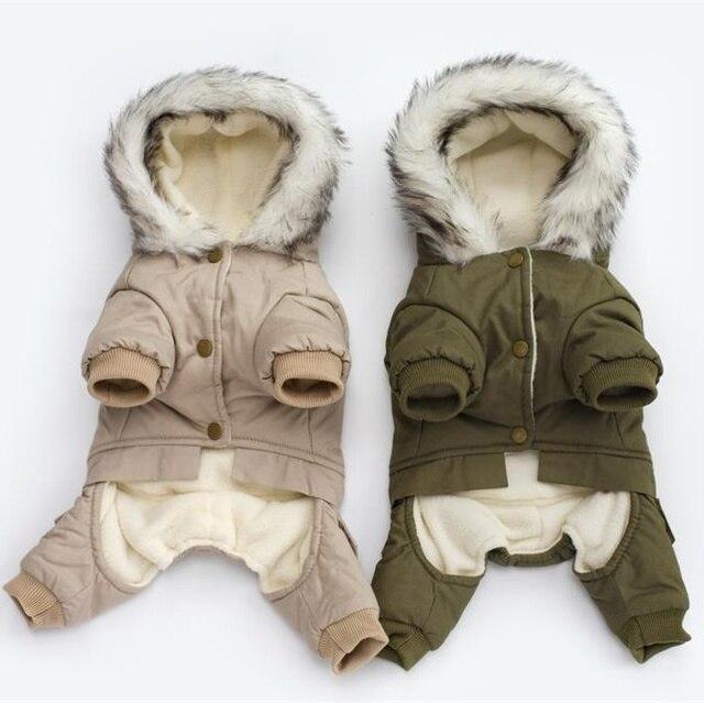 ملابس الحيوانات الأليفة الشتوية الدافئة الكلب معطف أخضر بذلة رشاقته ملابس الحيوانات الأليفة ل يوركشاير تيدي الكلاب زي جرو الملابس جاكيتات