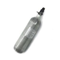 Tanque de aire AC30116 Acecare 1.1L Mini Paintball/Pcp 300 bar Airforce Pcp 4500Psi de fibra de carbono con regulador de Paintball