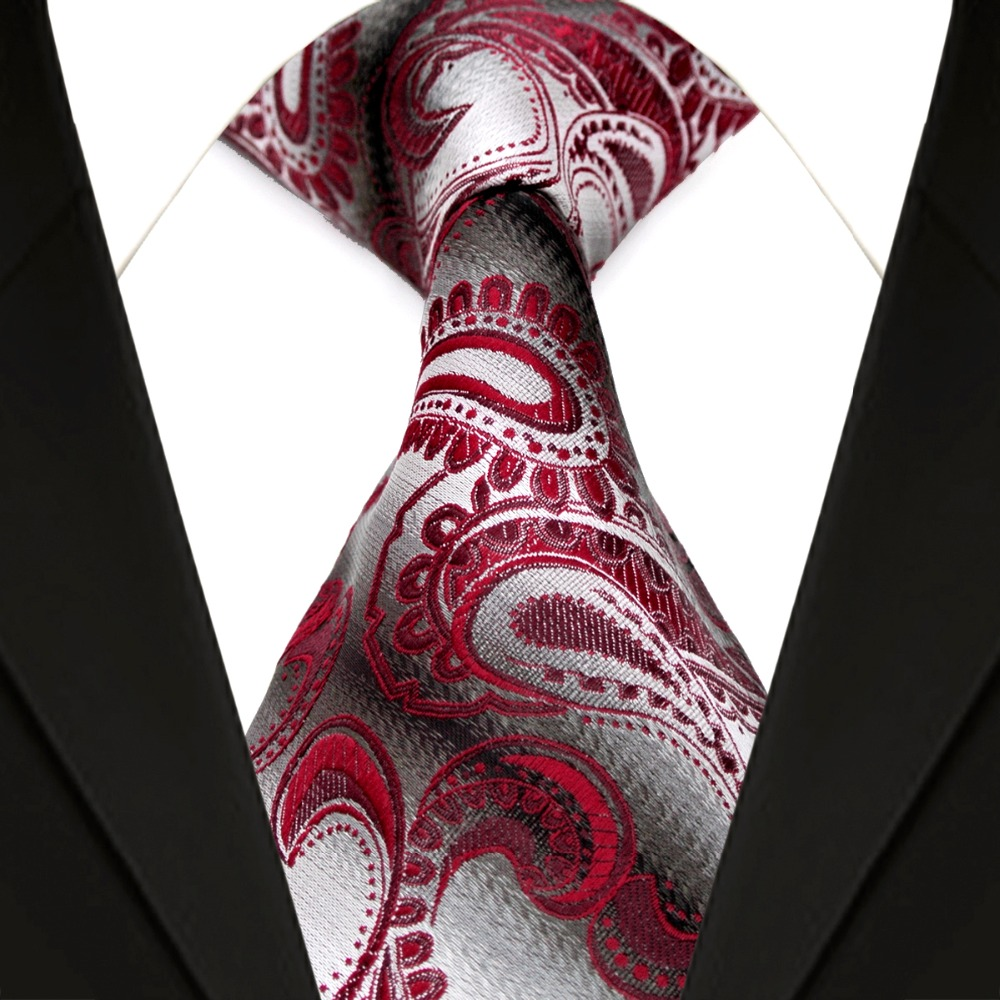 Online Buy Wholesale Burgundy Paisley Tie From China