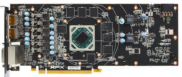 Купить с кэшбэком Bykski Full Cover Graphics Card Block use for XFX-Radeon-RX-480-GTR-8GB-GDDR5/ RX580 GTS XXX Edition Copper Radiator Water Block