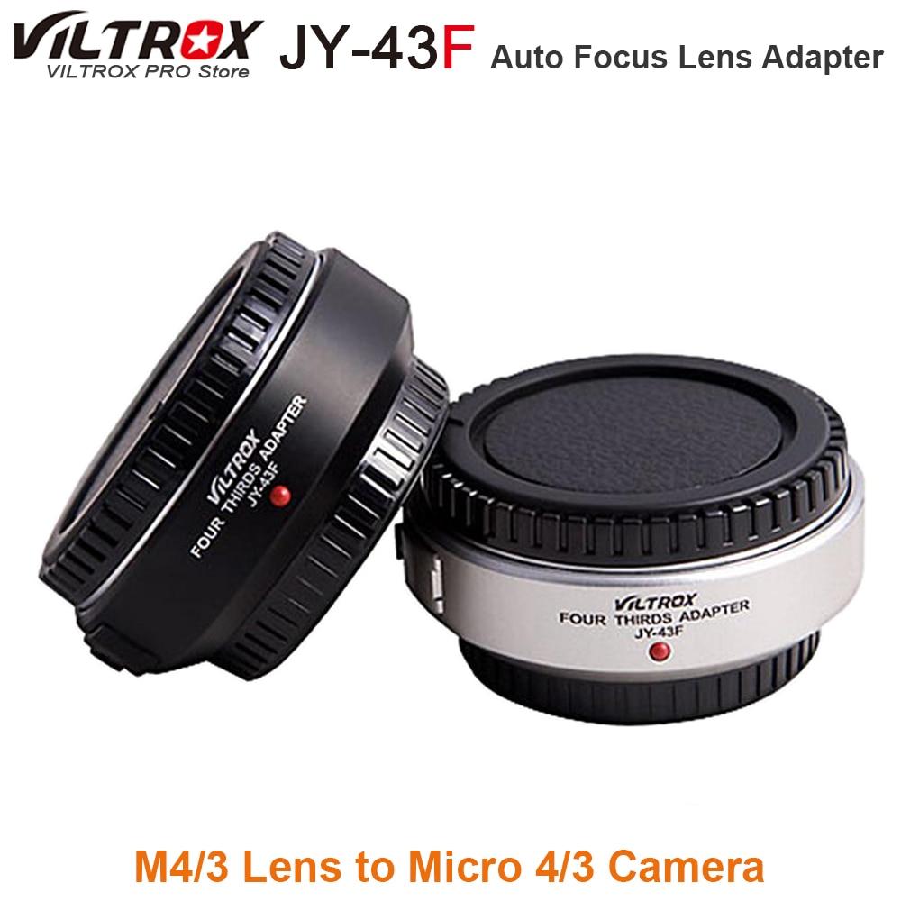 Viltrox Auto Focus M4 3 Lens to Micro 4 3 Camera Adapter Mount for Olympus Panasonic