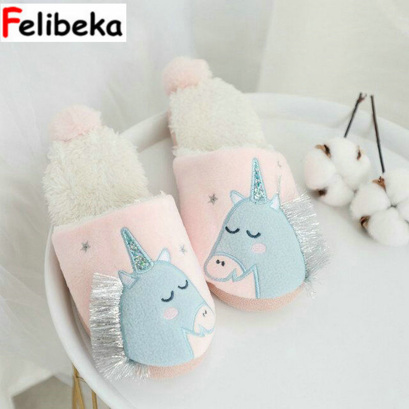 2018 New Autumn cute  women slippers Home indoor floor adult slipper silent anti-slip thick base cotton girl shoes2018 New Autumn cute  women slippers Home indoor floor adult slipper silent anti-slip thick base cotton girl shoes