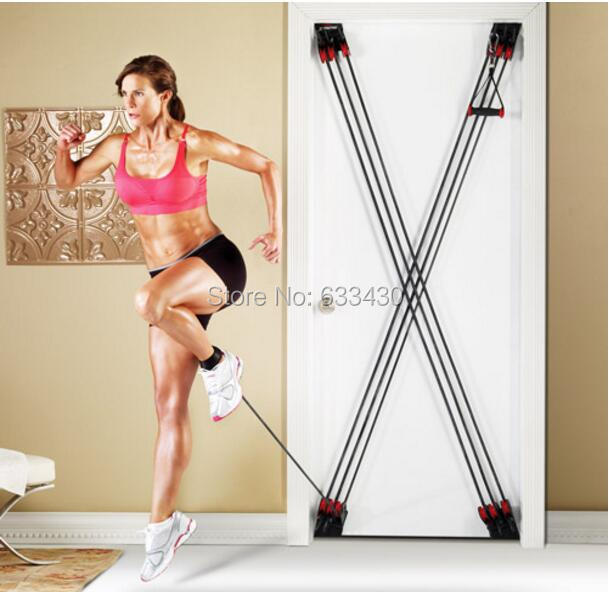 цена на WEIDER FACTOR X Universal Door Pull Rope Chest Resistance Band For Comprehensive Fitness Exercise