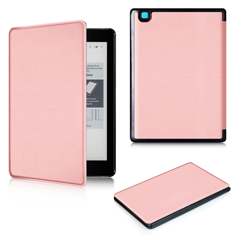 PU Leather Smart Case Magnetic ultra slim cover with Wake/Sleep for Kobo Aura One 7.8  inch ereader + protector film + stylus newest hard shell leather cover case for kobo aura h2o 6 8 inch ebook wake up and sleep screen protector stylus pen