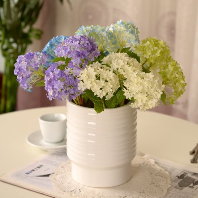 1pc artificial flower silk flowers mini hydrangea macrophylla 1pc artificial flower silk flowers mini hydrangea macrophylla flowers for diy home decor flower supplies wholesale mightylinksfo