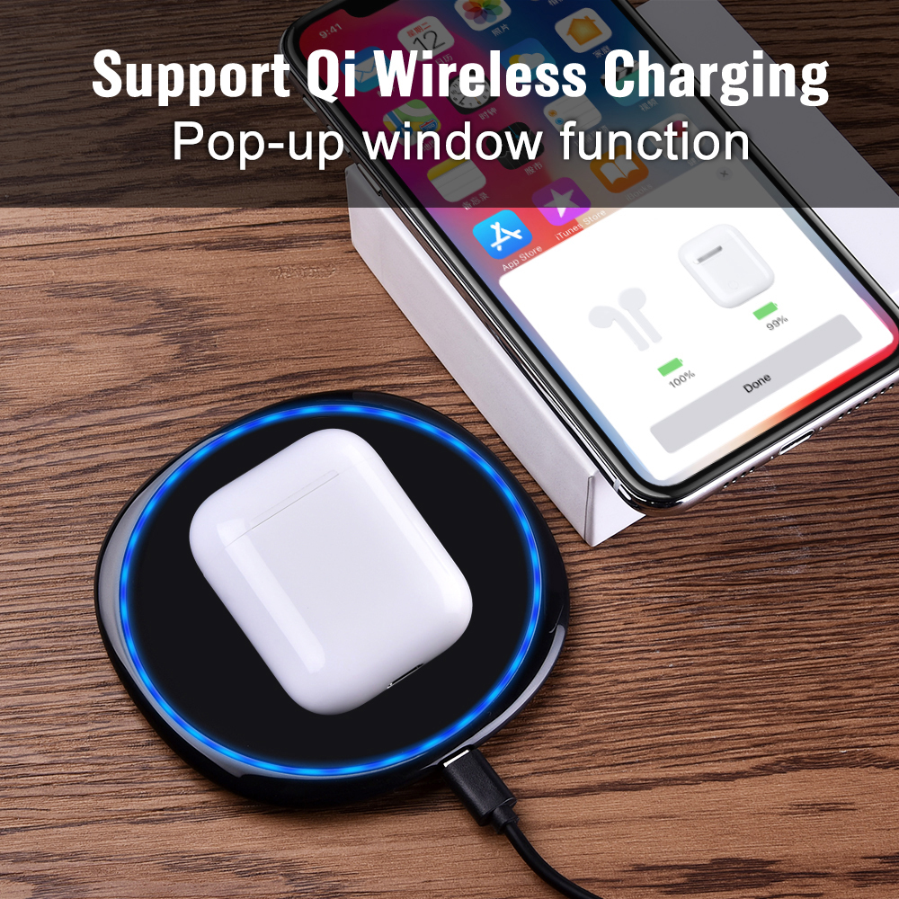 I60 TWS Pop up 1:1 Replik Separaten Verwenden Qi Wireless Charging Bluetooth 5,0 Kopfhörer Bass Ohrhörer i30 PK Schoten i20 i10 TWS W1 Chip