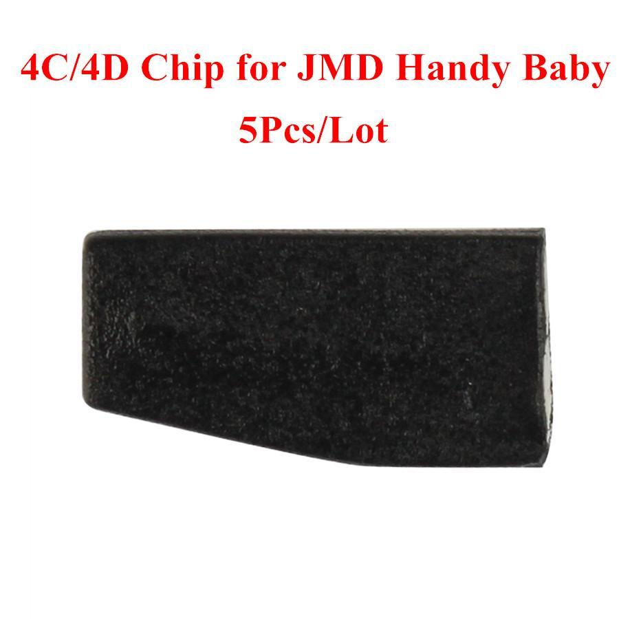 Prix pour 4C/4D Puce pour JMD Handy Bébé À main Clé De Voiture Copie Auto Key Programmeur 5 pcs/lot