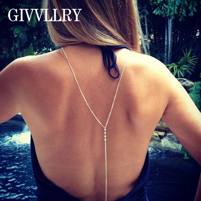 Lady Simple Sexy Silver Gold Beach Bikini Rhinestone Crystal Crossover Backdrop Body Belly Waist Chain Necklace Women Jewelry