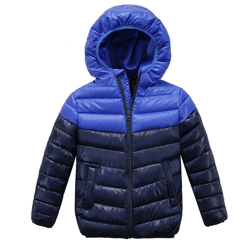 2018 Neue Baby Jungen Kinder Oberbekleidung Mantel Kinder Jacken Für Jungen Mädchen Winter Jacke Warme Mit Kapuze Kinder Kleidung Um Das KöRpergewicht Zu Reduzieren Und Das Leben Zu VerläNgern