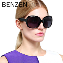 BENZEN Sunglasses Women Polarized UV 400 Oversized Vintage Female Sun Glasses Shades With Case 6088
