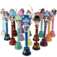ShaoFu Opera Mask Pens Chinese Kawaii Comedy Ballpoint Crafts Cute Cartoon Gel Gift Stationery 18 Styles Peking