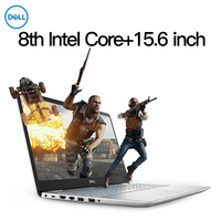 Dell Inspiron 5584 laptop (Intel Core i5 8265U/MX130/8GB RAM/128G SSD+1T HDD/15.6''FHD) Dell brande notebook