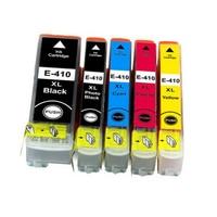 Vilaxh T410XL Refillable ink cartridge 410XL T410XL4 For Epson xp 530 XP 630 XP 540 XP 640 XP 900 Printers with chip|Ink Cartridges| |  -