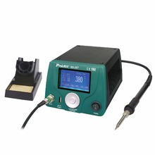 SS-257H ProsKit LCD Digital Intelligent Temperature Control Soldering Station Anti-Static LeadFree Maintenance Electric Welding