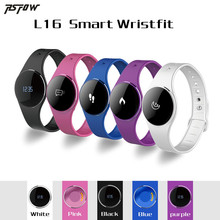 RsFow L16 Smart Bracelet Bluetooth 4.0 IP67 Touch Control Smartband Fitness Tracker Sleep Monitor Call Reminder for Android iOS