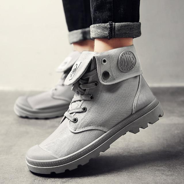 รองเท้าบู๊ตหิมะผู้ชาย 2018 แฟชั่นไมโครไฟเบอร์ผ้าฝ้ายข้อเท้ารองเท้าฤดูใบไม้ร่วงฤดูหนาวรองเท้าผู้ชายรองเท้า