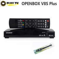 Genuine Openbox V8S Plus DVB-S2 Digital Satellite Receiver Support CARD SHARING Xtream Portugal Youtube USB Wifi MGCAMD DVB S2
