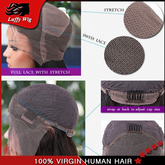 Astounding Aliexpress Com Buy Hot Selling Layered Bob Wigs Human Hair Lace Hairstyles For Women Draintrainus