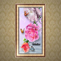 Flower 5D Diamond Embroidery Painting Cross Stitch DIY Craft Mosaic Home Decor
