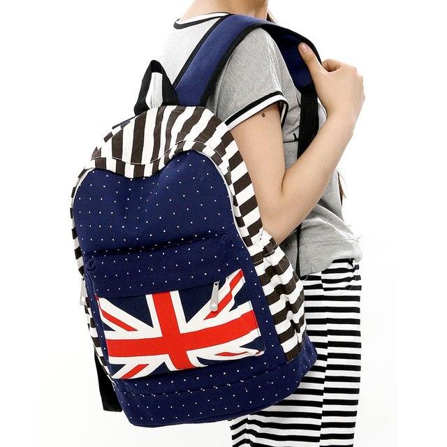 cute book bags uk flag cute backpack for kids children zipper ...