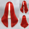 Fashion Styling Women Or Man Red Light Gold Silvery White Long Straight Hair Costume Wig Fancy Dress Party Wigs+Free hairnet