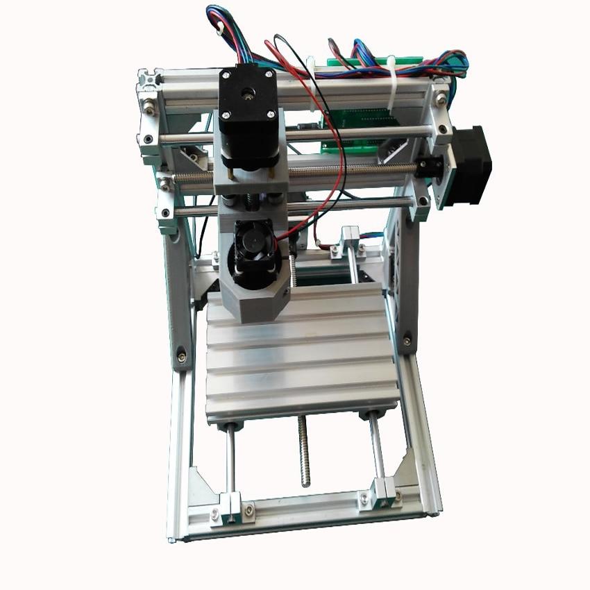 دستگاه 1pc mini CNC پلاستیک DIY ، اکریلیک ، پی وی سی ، کامپیوتر ، چوب یا مواد مشابه یا مواد مشابه + لیزر 500mw