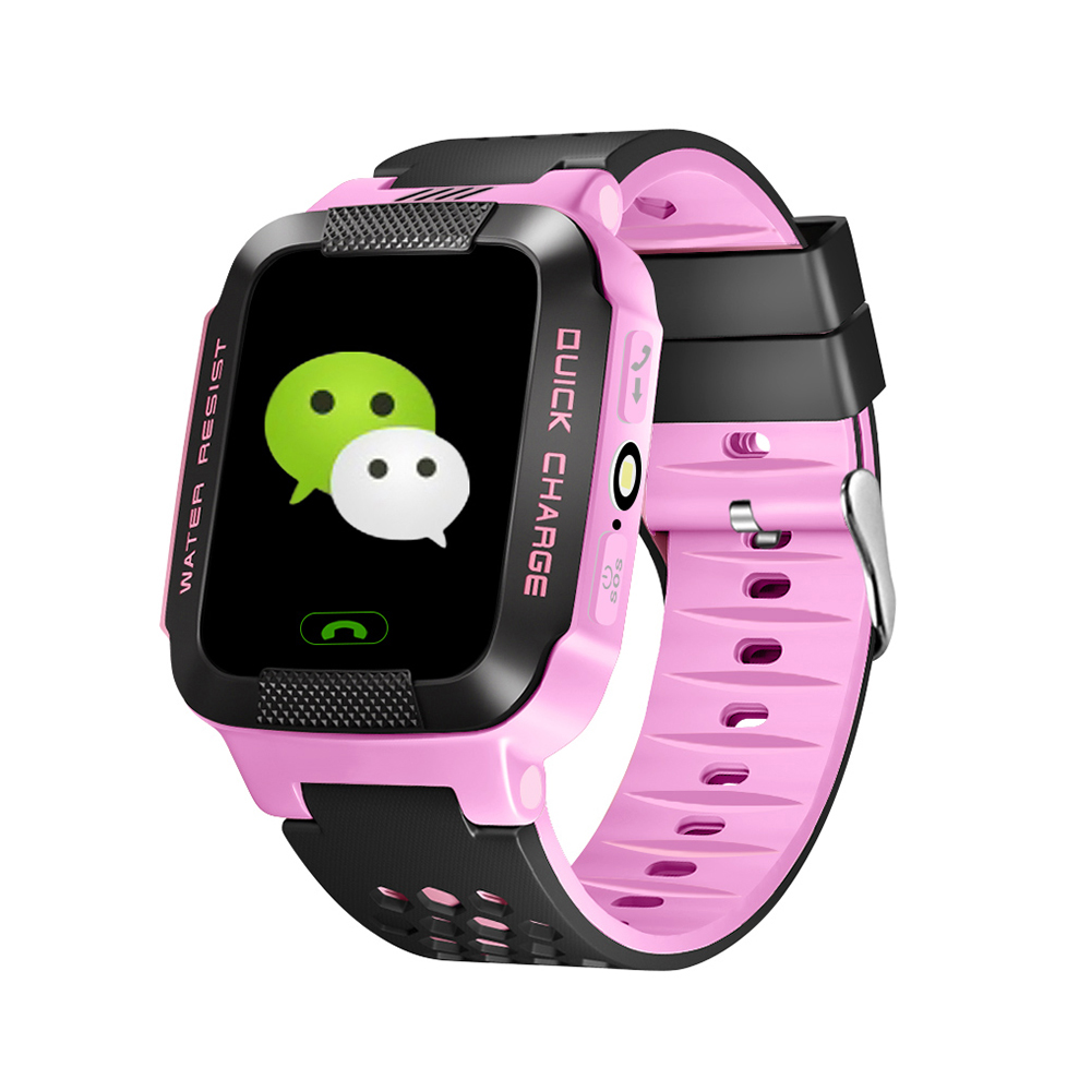 Sograce Smart Watches For Children GPS Smartwatch SOS Watch Phone Weather Forecast 2G Childrens Intelligent Positioning Watch