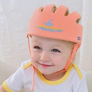 Image 4 - Casco de espuma para bebé, niño y niña, sombrero protector de alta calidad para niños, resistencia a caídas, productos de seguridad para niños pequeños