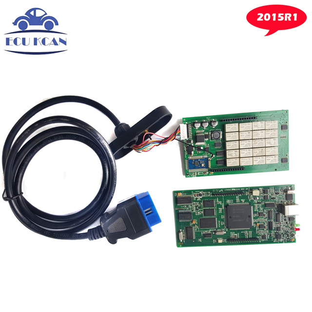 TCS Scanner CDP Bluetooth Tcs CDP Pro Diagnostic Tool As MVDIAG CDP OKI V2014.R2 With Keygen or 2015 R1 Free Shipping