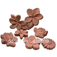8 Hole DIY Flower Korean Handmade Chocolate Silicone Mold Soap Molds Baking Food Mould Silicone Moulds