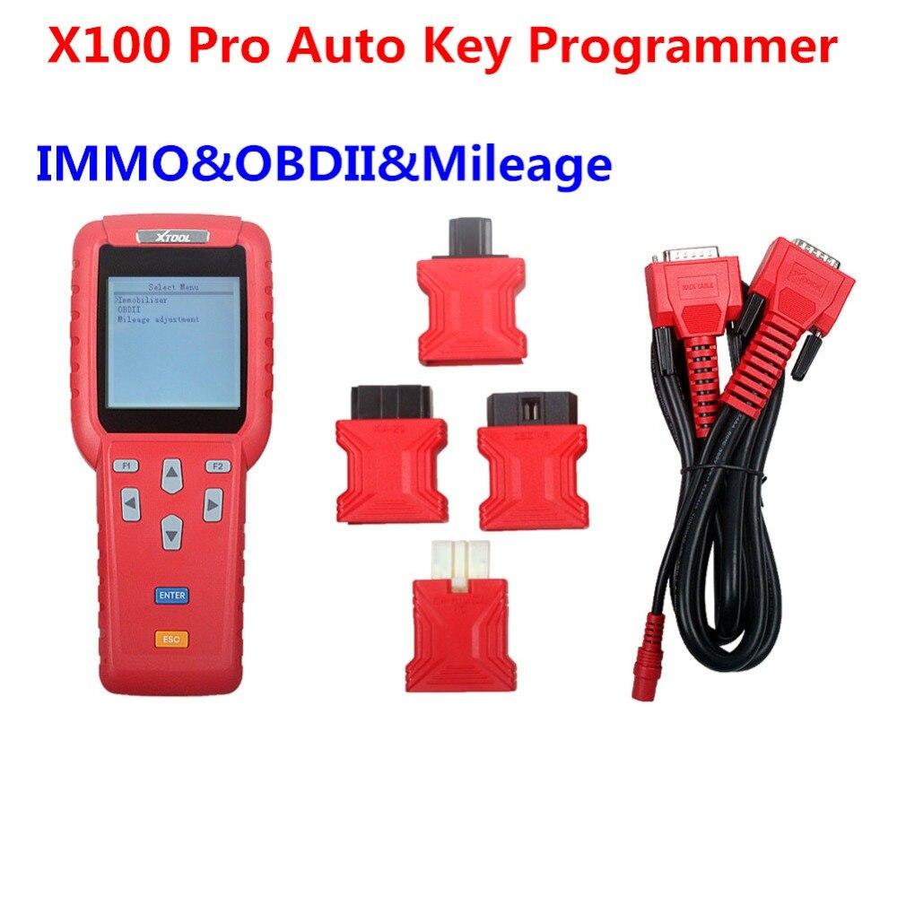 XTOOL Odometer Adjustment OBD Software X 100 Key Pro X 100 Pro Auto Key Programmer X100