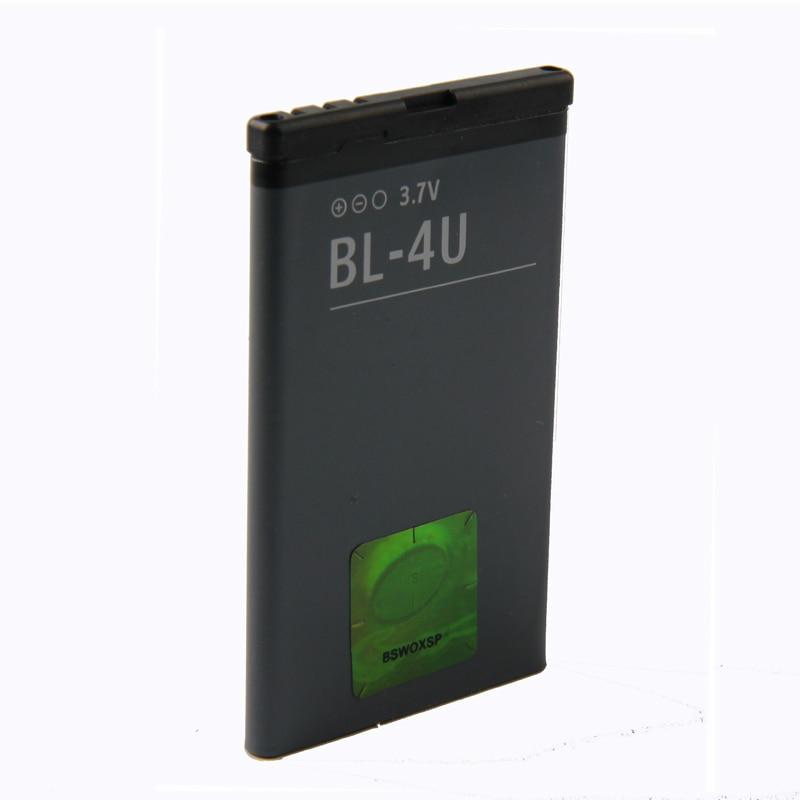Original BL-4U Phone Battery For Nokia 3120c C5-03 5250 5330XM E75 5530XM 5730XM 6212c  BL4U 1110mAh