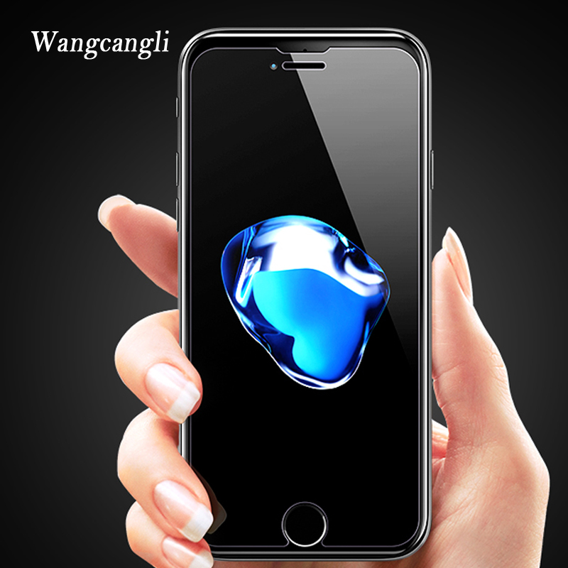wangcangli HD protective glass on the for iphone 6 screen protector 4