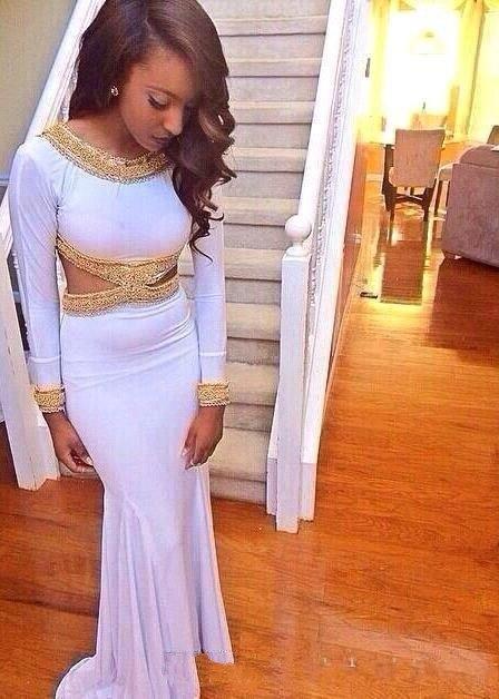 Online Get Cheap White Gold Mermaid Prom Dress Cheap -Aliexpress ...