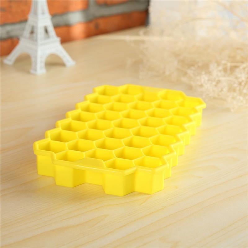 Silicone Honeycomb Ice Cube Tray