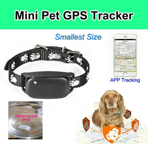 New Mini GPS/GSM/GPRS Device Tracking pet GPS Tracker Locator SOS Alarm gift for dog/cat 5pcs pet gps tracker v40 3g network waterproof mini gps tracker dog cat pet personal tracking locator ios andriod app gsm gprs