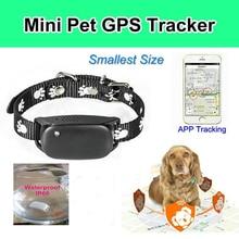New Mini GPS/GSM/GPRS Device Tracking pet GPS Tracker Locator SOS Alarm for dog/cat цена